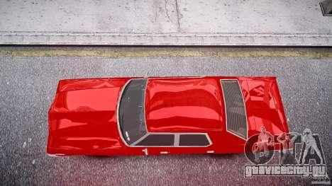 Dodge Monaco 1974 stok rims для GTA 4 вид справа