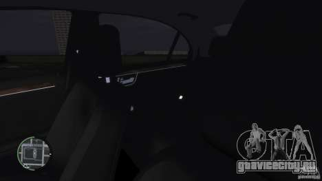 Mercedes-Benz S65 AMG для GTA 4 вид снизу