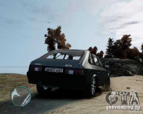 АЗЛК Москвич 2141 для GTA 4 вид слева