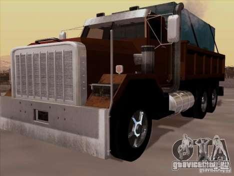 New Flatbed для GTA San Andreas
