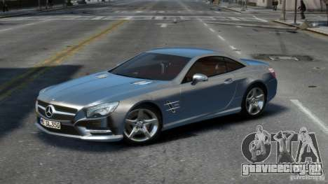 Mercedes-Benz SL 350 2013 v1.0 для GTA 4