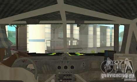Hummer H3 Baja Rally Truck для GTA San Andreas вид сзади