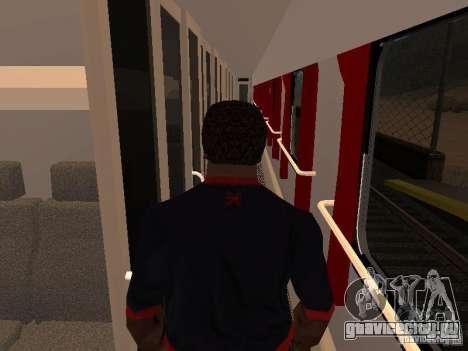 Невский экспресс для GTA San Andreas вид сзади