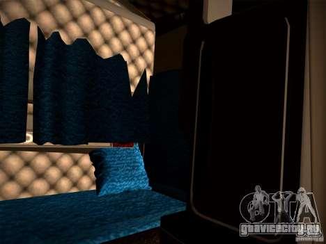 KenWorth T2000 v 2.8 для GTA San Andreas вид изнутри