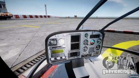 Eurocopter EC 130 NYPD для GTA 4 вид справа