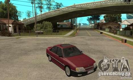 Opel Omega A для GTA San Andreas вид сзади