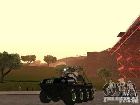 Вездеход Argo Avenger для GTA San Andreas