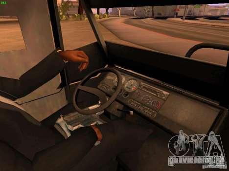 Monster Van для GTA San Andreas вид сбоку