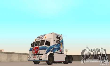 КамАЗ-РИАТ-54112 для GTA San Andreas вид слева