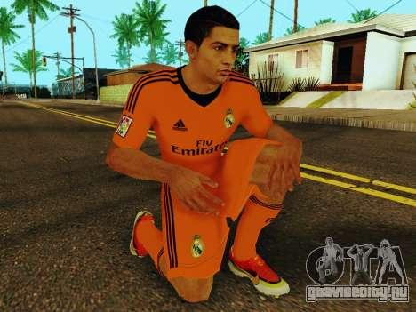 Криштиану Роналду v3 для GTA San Andreas пятый скриншот