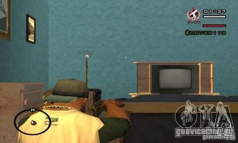 Uzi из COD4 MW для GTA San Andreas четвёртый скриншот