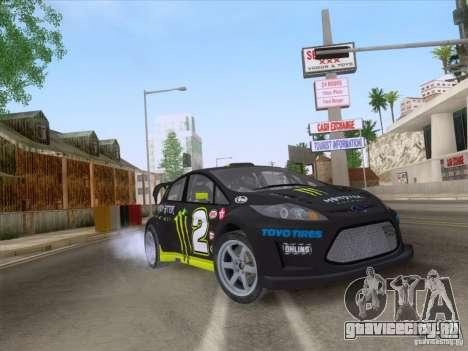 Ford Fiesta для GTA San Andreas вид справа