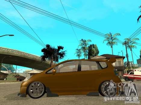 Honda Jazz Sport для GTA San Andreas вид слева