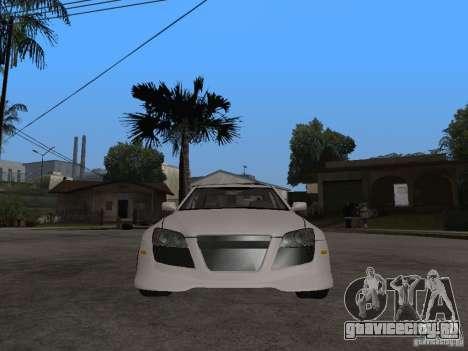Lexus IS300 NFS Carbon для GTA San Andreas вид справа
