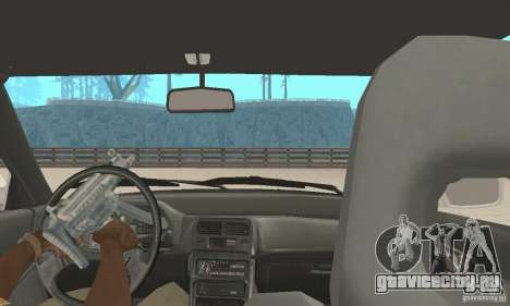 HONDA CRX II 1989-92 для GTA San Andreas вид изнутри
