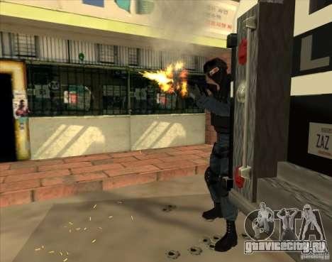 Los Angeles S.W.A.T. Skin для GTA San Andreas третий скриншот