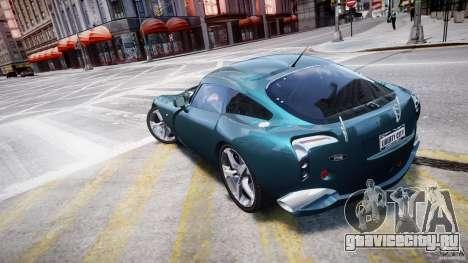 TVR Sagaris для GTA 4 вид сзади слева
