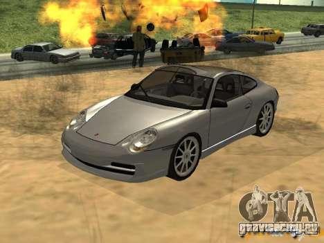 Porsche 911 TARGA для GTA San Andreas вид слева