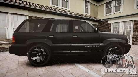 Cavalcade FBI car для GTA 4 вид изнутри