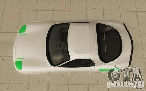 Mazda FD3S - Ebisu Style для GTA San Andreas вид справа
