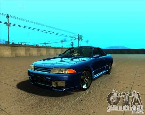 Nissan Skyline GT-R R32 1993 Tunable для GTA San Andreas вид изнутри