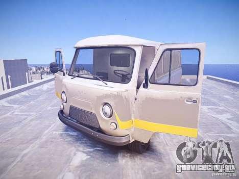 УАЗ 3741 - Батон для GTA 4 вид изнутри