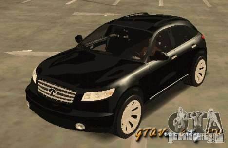INFINITY FX45 для GTA San Andreas