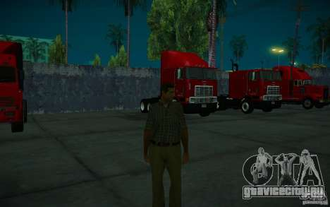 ENBSeries v1.0 By ГАЗелист для GTA San Andreas двенадцатый скриншот