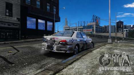 Nissan Laurel GC35 Itasha для GTA 4 вид изнутри