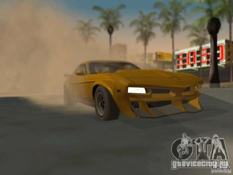 SPEEDEVIL from FlatOut 2 для GTA San Andreas вид справа