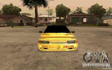 ВАЗ 2114 GOLD для GTA San Andreas вид справа