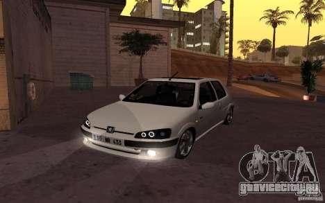 Peugeot 106 GTi для GTA San Andreas
