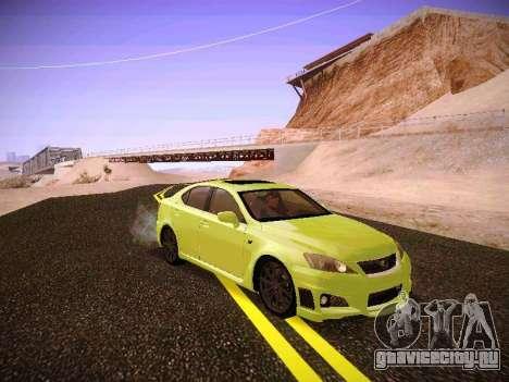 Lexus I SF для GTA San Andreas вид слева