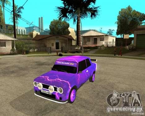 ВАЗ 2101 двухдверная для GTA San Andreas