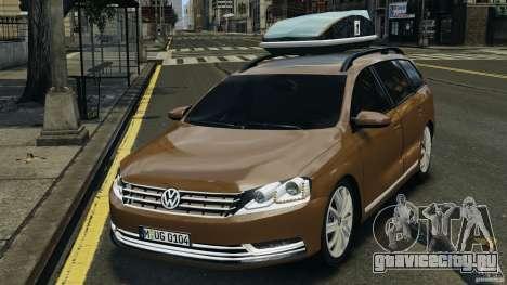 Volkswagen Passat Variant B7 для GTA 4