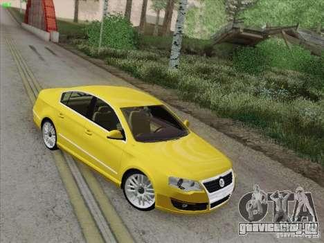 Volkswagen Magotan 2011 для GTA San Andreas вид сверху