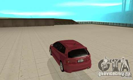 Honda Civic Type R - Stock + Airbags для GTA San Andreas