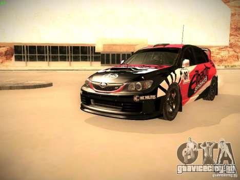 Subaru Impreza Gymkhana для GTA San Andreas салон