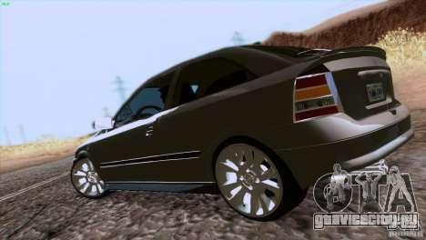 Opel Astra G 2.0 1.6V для GTA San Andreas вид справа