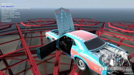 Afterburner Flatout UC для GTA 4 вид сверху