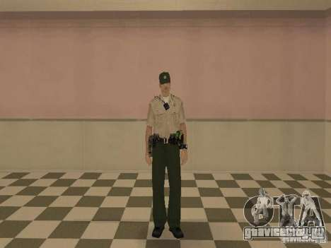 Los Angeles Police Department для GTA San Andreas третий скриншот