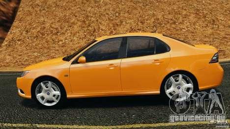 Saab 9-3 Turbo X 2008 для GTA 4 вид слева