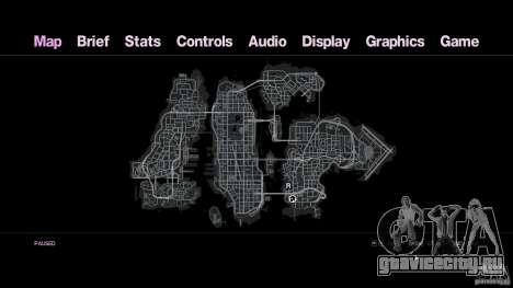 VC Style Radar/HUD (скин 2) для GTA 4