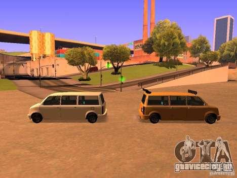 Moonbeam NN для GTA San Andreas вид снизу