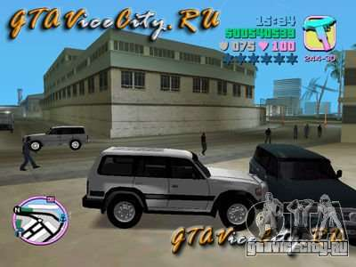 Toyota LAND CRUISER 80 для GTA Vice City