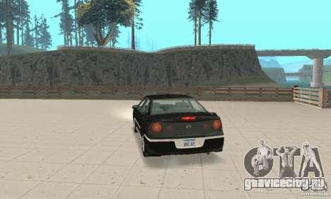 Chevrolet Impala 2003 для GTA San Andreas вид слева
