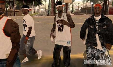 Замена банд, татуировок, одежды и т.п. для GTA San Andreas десятый скриншот