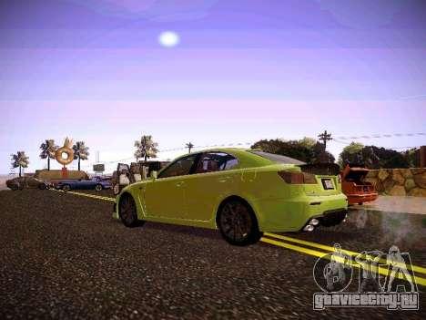 Lexus I SF для GTA San Andreas вид справа