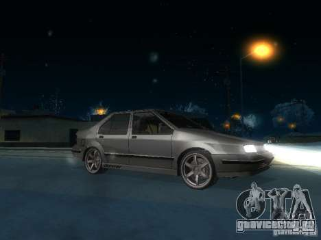 Renault 19 Chamade для GTA San Andreas вид сзади