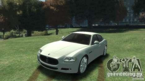 Maserati Quattroporte для GTA 4
